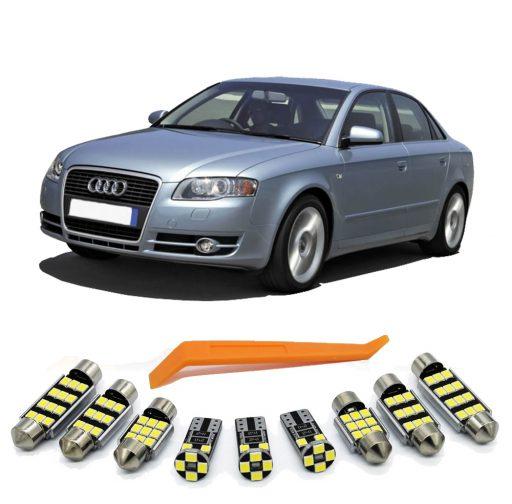 Audi A4 B7 led salono apsvietimas