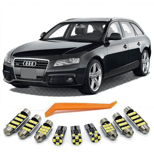 Audi A4 B8 led apsvietimas