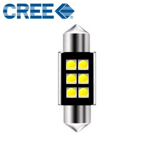 36mm cree led lempute