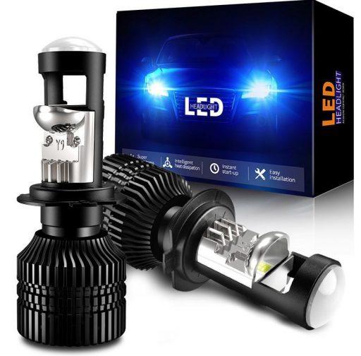 h7 led lesines lemputes